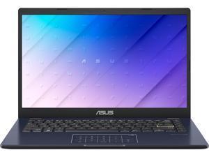 "ASUS Laptop L410 Ultra Thin Laptop, 14"" FHD Display, Intel Celeron N4020 Processor, 4 GB RAM, 128 GB Storage, NumberPad, Windows 10 Home in S Mode, 1 Year Microsoft 365, Star Black, L410MA-PS04"