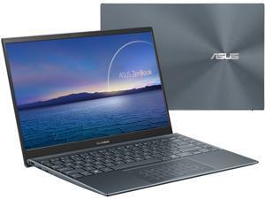 "ASUS ZenBook 14 Ultra-Slim Laptop 14"" Full HD NanoEdge Bezel Display, AMD Ryzen 5 5600H CPU, AMD Radeon Graphics, 8GB RAM, 512GB PCIe SSD, NumberPad, Windows 10 Home, Pine Grey, UM425QA-ES51"
