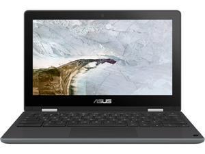 "ASUS Chromebook Flip C214MA-Q1R-CB Chromebook Intel Celeron N4020 (1.10 GHz) 4 GB Memory 32 GB eMMC SSD 11.6"" Touchscreen Chrome OS"