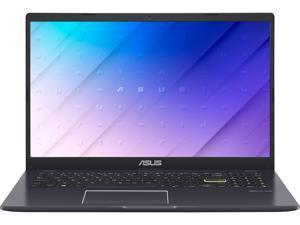 "ASUS Laptop E510 Ultra Thin Laptop, 15.6"", Intel Celeron N4020 Processor, 4GB RAM, 256GB PCIe SSD, Windows 10 Home, Star Black, E510MA-RS06"