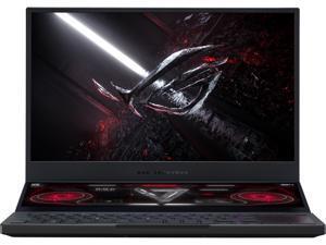 "ASUS ROG Zephyrus Duo SE 15 Gaming Laptop, 15.6"" 120Hz IPS Type UHD Display, NVIDIA GeForce RTX 3070, AMD Ryzen 9 5980HX, 32GB DDR4, 1TB PCIe SSD, Per-Key RGB Keyboard, Windows 10 Pro, GX551QR-XB98"