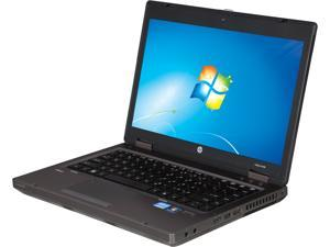 "HP Probook 6460 [Microsoft Authorized Recertified] 14"" Laptop with Intel Core i5-2520M (2.53GHz), 4GB Memory, 250GB HDD, DVD ROM, Windows 7 Pro (64 Bit)"