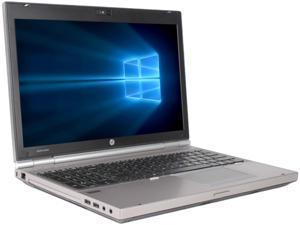"HP Laptop EliteBook 8560P Intel Core i7 2nd Gen 2620M (2.70 GHz) 8 GB Memory 500 GB HDD Intel HD Graphics 3000 15.6"" Windows 10 Pro"