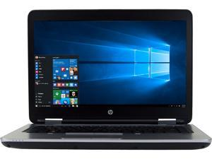 "HP Grade A Laptop 640 G2 Intel Core i5 6th Gen 6300U (2.40 GHz) 8 GB Memory 1 TB HDD 14.0"" Windows 10 Pro 64-Bit"