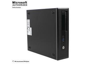 Certified Refurbished HP ProDesk 600G1 Small Form Factor Intel Core i5 4570 3.20 GHz / 16 GB DDR3 / Brand New 120GB SSD + 3TB HDD / DVD / / USB WIFI Adapter / USB Bluetooth 4.0 Adapter / Windows 10 Pr