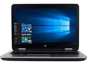"HP Grade A Laptop 640 G2 Intel Core i5 6th Gen 6300U (2.40 GHz) 8 GB Memory 240 GB SSD 14.0"" Windows 10 Pro 64-Bit"