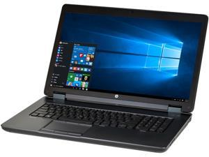"HP ZBook 17 B Grade Mobile Workstation Intel Core i7 4th Gen 4600M (2.90 GHz) 16 GB Memory 256 GB SSD 17.3"" Windows 10 Pro 64-Bit"