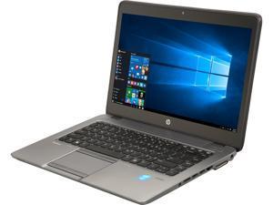 "HP Grade A Laptop EliteBook 840 G2 Intel Core i5 5th Gen 5300U (2.30 GHz) 8 GB Memory 256 GB SSD 14.0"" Windows 10 Pro 64-bit"