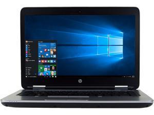 "HP ProBook 640 G2 Laptop Intel Core i5 6th Gen 6300U (2.40 GHz) 8 GB Memory 256 GB SSD 14.0"" Windows 10 Pro 64-bit A Grade"
