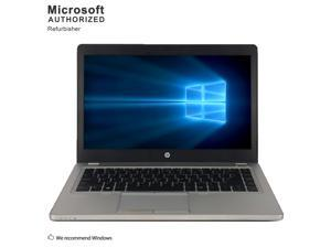 "HP Grade A Laptop EliteBook Folio 9470M Intel Core i7 3rd Gen 3687U (2.10 GHz) 8 GB Memory 512 GB SSD Intel HD Graphics 4000 14.0"" Windows 10 Home 64-bit"