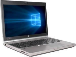 "Refurbished HP Grade A Elitebook 8560P 15.6"" Laptop, Intel Core I5-2520M 2.5 GHz, 8GB Memory, 1T, DVDRW, WIFI, Windows 10 Home 64-bit (Multi-language), 1 Year Warranty"