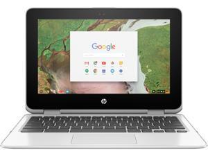 "HP Chromebook x360 11-ae161cl Chromebook Intel Celeron N3350 (1.1 GHz) 4 GB Memory 32 GB eMMC SSD 11.6"" Touchscreen Chrome OS"