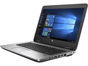 "HP Grade A Laptop ProBook 640 G2 Intel Core i5 6th Gen 6300U (2.40 GHz) 8 GB Memory 256 GB SSD Intel HD Graphics 520 14.0"" Windows 10 Home 64-bit"