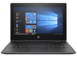 "HP ProBook x360 11 G5 EE 9RU30UT#ABA Intel Celeron N4120 (1.10 GHz) 4 GB Memory 64 GB eMMC Intel UHD Graphics 600 11.6"" Touchscreen 1366 x 768 Convertible 2-in-1 Laptop Windows 10 Pro 64-bit"