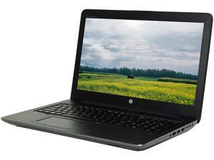 "HP Grade A Laptop ZBook 15 G3 Intel Core i7 6th Gen 6700HQ (2.60 GHz) 32 GB Memory 512 GB SSD 15.6"" Windows 10 Pro 64-bit"