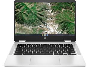 "HP Chromebook x360 14a-ca0010nr Intel Celeron N4020 (1.10 GHz) 4 GB LPDDR4 Memory 32 GB eMMC 14.0"" Touchscreen Chrome OS"