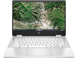"HP Chromebook x360 14a-ca0020nr Intel Celeron N4020 (1.10 GHz) 4 GB LPDDR4 Memory 32 GB eMMC 14.0"" Touchscreen Chrome OS"