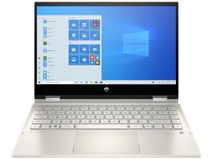 "HP Pavilion x360 14m-dw1023dx Intel Core i5 11th Gen 1135G7 (2.40 GHz) 8 GB Memory 256 GB PCIe SSD Intel Iris Xe Graphics 14"" Touchscreen 1920 x 1080 Convertible 2-in-1 Laptop Windows 10 Home 64-bit"