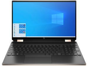 "HP Spectre x360 15-eb1043dx Intel Core i7 11th Gen 1165G7 (2.80 GHz) 16 GB Memory 512 GB PCIe SSD 32 GB Optane Memory 15.6"" Touchscreen 3840 x 2160 Convertible 2-in-1 Laptop Windows 10 Home 64-bit"