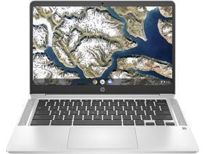 """HP 14a-na0050nr Chromebook Intel Celeron N4000 (1.10 GHz) 4 GB LPDDR4 Memory 32 GB eMMC SSD 14.0"""" Chrome OS"""