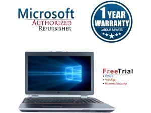 "Refurbished Dell Latitude E6520 15.6"" Intel Core i5-2520M 2.5GHz 4GB DDR3 320GB DVD Windows 10 Professional 64 Bits 1 Year Warranty"