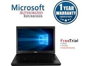 """DELL Laptop Latitude E6410 Intel Core i7 1st Gen 620M (2.66 GHz) 4 GB Memory 320 GB HDD Intel HD Graphics 14.1"""" Windows 10 Pro"""