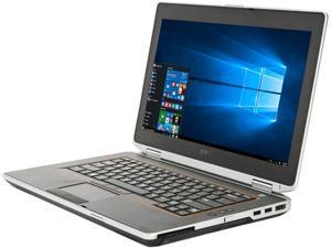 "DELL Laptop Latitude E6420 Intel Core i5 2nd Gen 2410M (2.30 GHz) 12 GB Memory 128 GB SSD 14.0"" Windows 10 Pro 64-Bit"