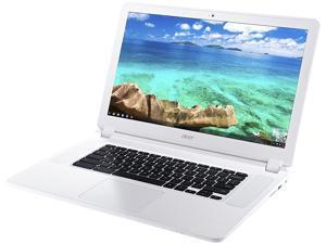 "Acer CB5-571-C1DZ Chromebook Intel Celeron 3205U (1.50 GHz) 4 GB Memory 16 GB SSD 15.6"" Chrome OS 64-Bit"