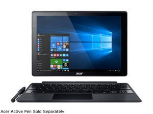 "Acer Switch Alpha 12 SA5-271P-5972 Intel Core i5 6th Gen 6200U (2.30 GHz) 8 GB Memory 256 GB SSD 12"" Touchscreen 2160 x 1440 2-in-1 Laptop Windows 10 Pro 64-Bit"