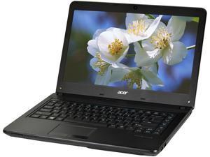 "Acer Laptop TravelMate P243-M-6655 Intel Core i5 3rd Gen 3230M (2.60 GHz) 4 GB Memory 500 GB HDD Intel HD Graphics 4000 14.0"" Windows 10 Pro 64-Bit"