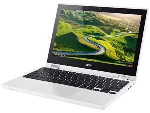 Acer R 11 Chromebook Convertible, 11.6-Inch HD Touch, Intel Celeron N3150, 4 GB DDR3L, 32 GB, Chrome, CB5-132T-C1LK, Certified Refurbished