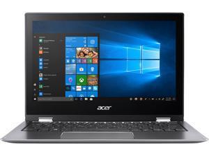 "Acer Spin 1 SP111-32N-P6CV Intel Pentium N4200 (1.1 GHz) 4 GB Memory 64 GB Flash 11.6"" Touchscreen 1920 x 1080 Convertible 2-in-1 Laptop Windows 10 S (Manufacturer Recertified)"