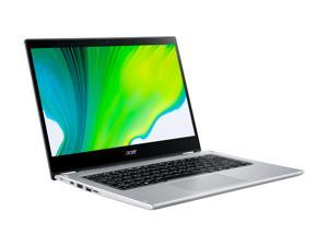 """Acer Spin 3 SP314-54N-50W3 Intel Core i5 10th Gen 1035G4 (1.10 GHz) 8 GB LPDDR4 Memory 512 GB NVMe SSD 14"""" Touchscreen 1920 x 1080 Convertible Thin and Light 2-in-1 Laptop Windows 10 Home 64-bit"""