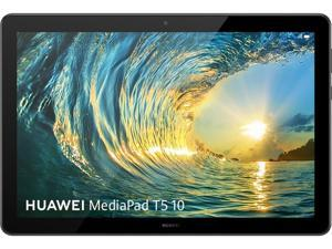 "Huawei MediaPad T5 10 53010XJG Octa-Core 2.36 GHz 4 GB Memory 64 GB Flash Storage 10.1"" 1920 x 1200 Tablet PC EMUI 8.0 (Based on Android 8.0) Black"