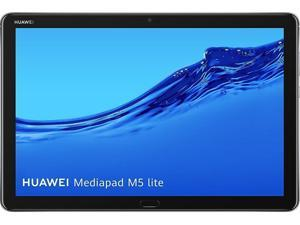 "Huawei MediaPad M5 Lite 10 with M-Pen Stylus 53011DHP Kirin 659 2.40 GHz 4 GB Memory 64 GB Flash Storage 10.1"" 1920 x 1200 Tablet PC EMUI 8.0 (Based on Android 8.0) Space Gray"