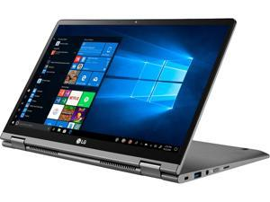 """LG Gram 2-in-1 14T90N-R.APS7U1 Intel Core i7 10th Gen 10510U (1.80 GHz) 16 GB Memory 512 GB SSD Intel UHD Graphics 14"""" Touchscreen 1920 x 1080 2-in-1 Convertible 2-in-1 Laptop Windows 10 Pro"""