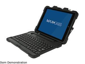 "Max Cases Black Extreme KeyCase w/Lightning Connector for iPad 5/6 9.7"" (Detachable) (Black) Model AP-EKC-IP6-9-BLK-R"