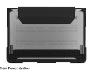 """Max Cases Black Extreme Shell-S for MacBook Air 13"""" (Model # A1466/A1369) (Black) Model AP-ESS-MBA-13-BLK"""