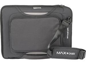 "Max Cases Gray Slim Sleeve 14"" with Zipper Pocket Model MC-SSP-14-GRY"