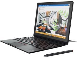 "Lenovo Thinkpad X1 20GG001KUS Intel Core M5 6Y57 (1.10 GHz) 8 GB Memory 256 GB SSD 12"" Touchscreen 2160 x 1440 2-in-1 Laptop Windows 10 Pro 64-Bit"