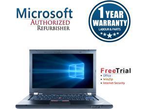 "Refurbished Lenovo ThinkPad T420S 14.0"" Intel Core i5-2520M 2.5GHz 4GB DDR3 320GB DVD Windows 10 Professional 64 Bits 1 Year Warranty"