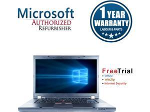 "Refurbished Lenovo ThinkPad T510 15.6"" Intel Core i5-520M 2.4GHz 4GB DDR3 1 TB DVD Windows 10 Professional 64 Bits 1 Year Warranty"