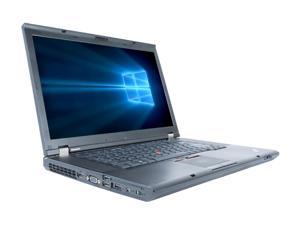 "Refurbished Lenovo ThinkPad T530 15.6"" Intel Core i5-3210M 2.5GHz 8GB DDR3 240GB SSD DVD Windows 10 Professional 64"