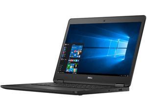 """DELL Grade A Laptop Latitude E7470 Intel Core i5 6th Gen 6300U (2.40 GHz) 8 GB Memory 256 GB SSD Intel HD Graphics 520 14.0"""" Windows 10 Pro 64-bit"""