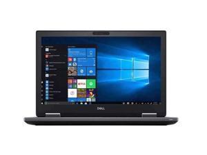 """DELL Precision 7530 Grade A Mobile Workstation Intel Xeon E-2176M (2.70 GHz) 32 GB Memory 512 GB SSD NVIDIA Quadro P3200 15.6"""" Windows 10 Pro 64-bit"""