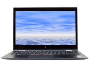 "Lenovo ThinkPad X1 YOGA Intel Core i5 6th Gen 6300U (2.40 GHz) 8 GB Memory 512 GB SSD Intel HD Graphics 520 14"" Touchscreen 1920 x 1080 Convertible Grade A 2-in-1 Laptop Windows 10 Pro 64-bit"