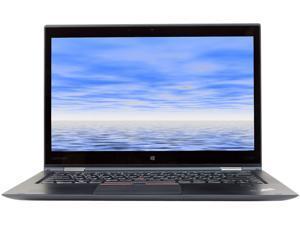 "Lenovo ThinkPad X1 YOGA Intel Core i5 6th Gen 6300U (2.40 GHz) 8 GB Memory 256 GB SSD Intel HD Graphics 520 14"" Touchscreen 1920 x 1080 Convertible Grade B 2-in-1 Laptop Windows 10 Pro 64-bit"