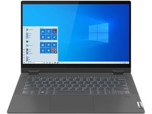 "Lenovo IdeaPad Flex 5 14ARE05 81X200E2CC AMD Ryzen 5 4000 Series 4500U (2.30 GHz) 8 GB Memory 512 GB PCIe SSD AMD Radeon Graphics 14"" Touchscreen 1920 x 1080 Convertible 2-in-1 Laptop Windows 10 Home"