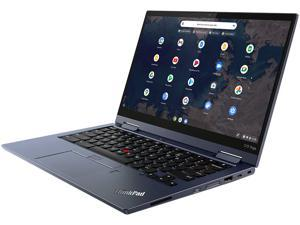 "Lenovo ThinkPad C13 Yoga Gen 1 Chromebook AMD Ryzen 3 3000 Series 3250C (2.60 GHz) 4 GB Memory 128 GB M.2 2242 SSD 13.3"" Touchscreen Chrome OS"
