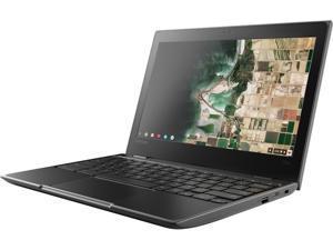 """Lenovo 100e Chromebook Intel Celeron N4020 (1.10 GHz) 4 GB Memory 32 GB SSD 11.6"""" Chrome OS"""